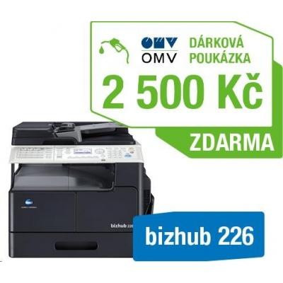 Minolta kopírka bizhub 226 SET1 (bh226 + DF-625 + AD-509 + MK-749 + NC-504) + Poukázka OMV 2500