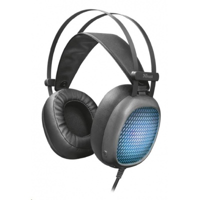 TRUST sluchátka Lumen Illuminated Headset for PC and laptop