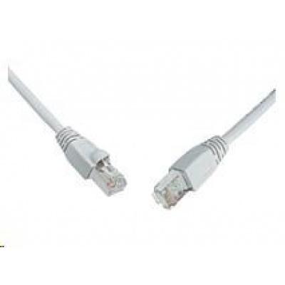Solarix Patch kabel CAT5E SFTP PVC 2m šedý snag-proof C5E-315GY-2MB
