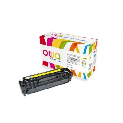 OWA Armor toner pro HP Color Laserjet CP2020, CP2025, CM2320, CM2720, 2800 Stran, CC532A, žlutá/yellow