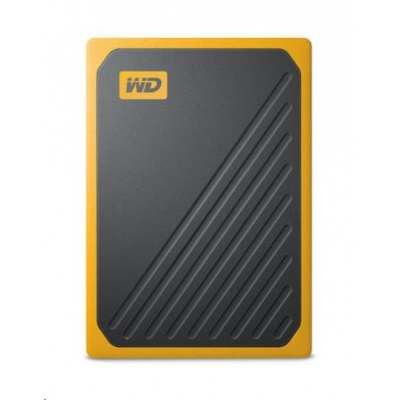 SanDisk WD My Passport Go externí SSD 1TB My Passport Go, USB 3.0 žlutá