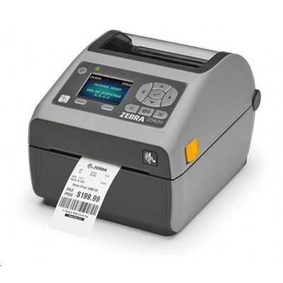 Zebra DT tiskárna etiket ZD620, LCD, 203 dpi, USB, USB Host, Serial, LAN, 802.11, BT, odlepovač ROW