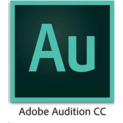 ADB Audition CC MP Multi Euro Lang ENTER LIC SUB New 1 User Lvl 1 1-9 Month