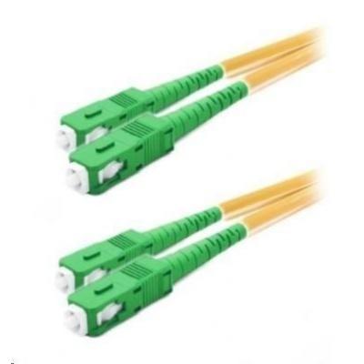 Duplexní patch kabel SM 9/125, OS2, SC(APC)-SC(APC), LS0H, 10m