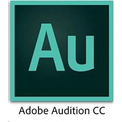 ADB Audition CC MP Multi Euro Lang ENTER LIC SUB RNW 1 User Lvl 1 1-9 Month