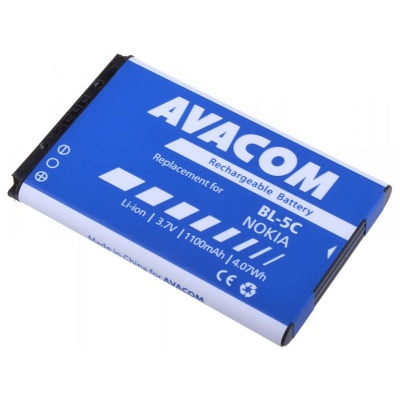 AVACOM baterie do mobilu Nokia 6230, N70, Li-Ion 3,7V 1100mAh (náhrada BL-5C)