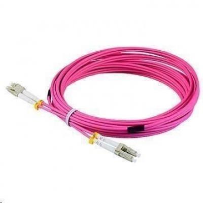 Duplexní patch kabel MM 50/125, OM4, LC-LC, LS0H, 15m