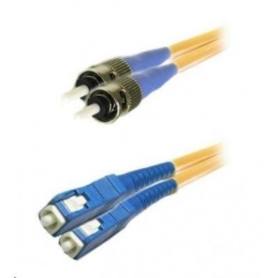 Duplexní patch kabel SM 9/125, OS2, SC-ST, LS0H, 3m