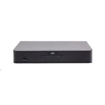 Uniview NVR, 8 kanálů, H.265, 1x HDD, 8Mpix (48Mbps/48Mbps), HDMI, VGA, 3x USB 2.0, audio