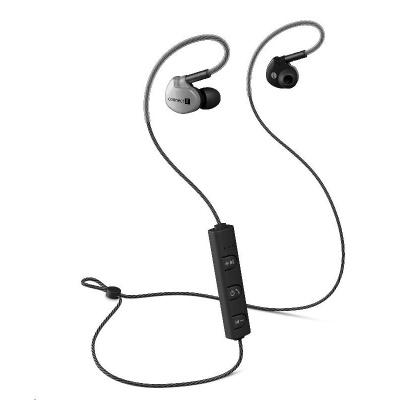 CONNECT IT Wireless Sport Sonics Bluetooth sluchátka do uší s mikrofonem, antracitová
