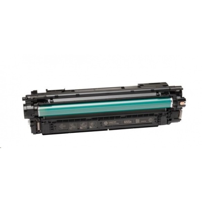 HP 655A Cyan Original LaserJet Toner Cartridge (CF451A)