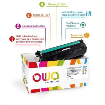 OWA Armor toner pro HP Color Laserjet Ese M855, 31500 Stran, CF313A, červená/magenta