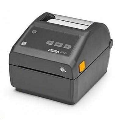 Zebra DT tiskárna etiket ZD420, 300 dpi, USB, USB Host, Modular Connectivity Slot, 802.11, BT ROW