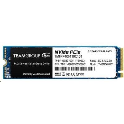 Team SSD M.2 1TB (R:3000, W:2600), MP34 PCI-e Gen3.0 x4 NVMe 1.3