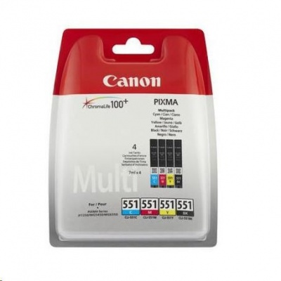 Canon BJ CARTRIDGE CLI-551 C/M/Y/BK Multi Pack BLISTER  SEC