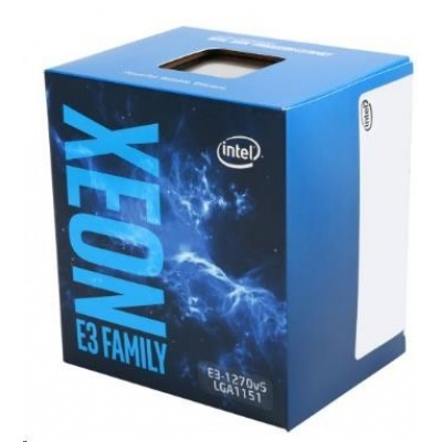 CPU INTEL XEON E3-1270 v5, LGA1151, 3.60 GHz, 8MB L3, 4/8, no VGA, 80W, BOX