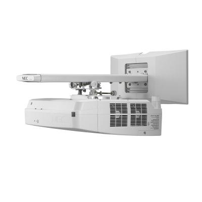 NEC Projektor LCD UM361X Ultra Short Throw (1024x768, 3600ANSI lm, 6000:1)  + drziak