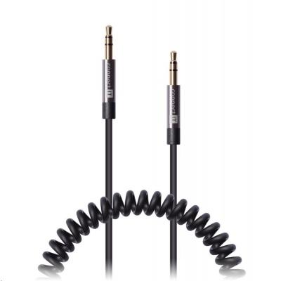 CONNECT IT Wirez 3,5mm jack (M) - 3,5mm jack (M), propojovací, kroucený, 1,8m