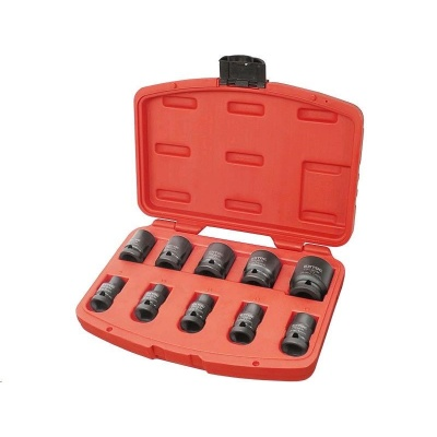 "Extol Premium hlavice nástrčné rázové, sada 10ks, 1/2"", 9-27mm, CrMoV 8818131"