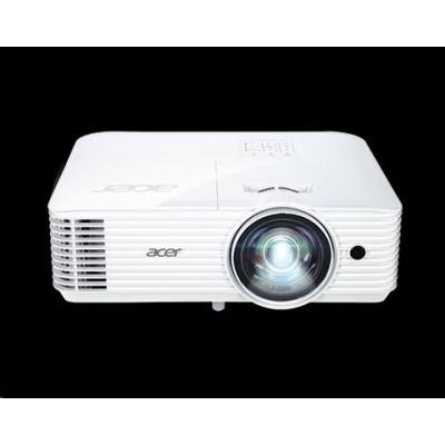 ACER Projektor S1286Hn, DLP 3D, XGA, 3500lm, 20000/1, HMDI,rj45, short throw 0.6, 3.1kg, EURO EMEA